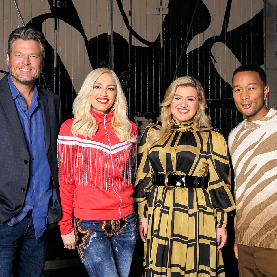 coaches on the voice