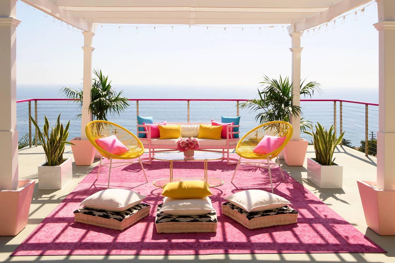 barbie malibu dreamhouse outdoor area