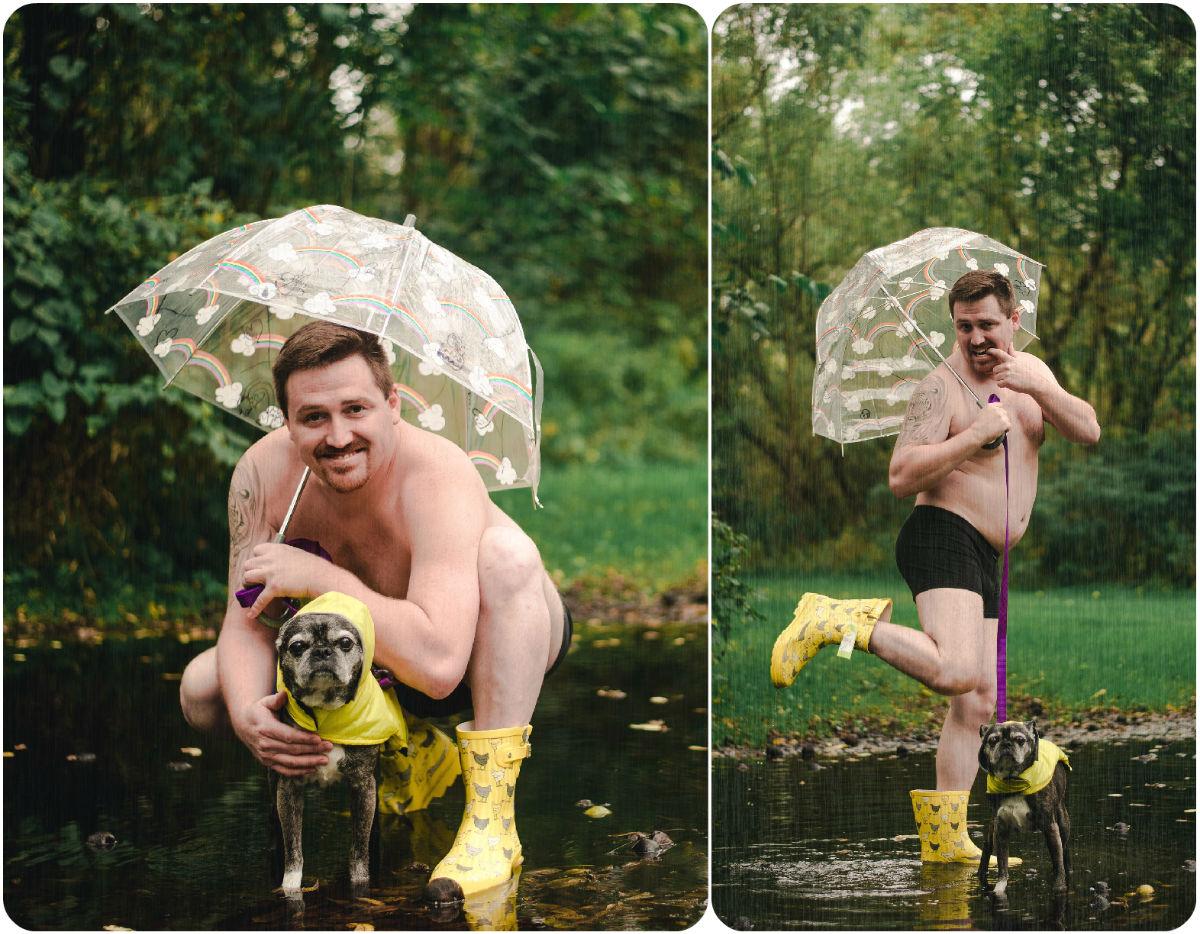 dog and dad bod calendar