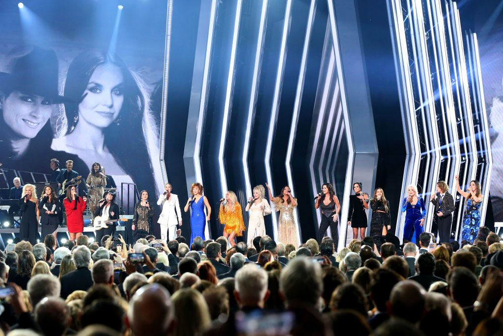 The star studied CMA Awards Opening Musicians Captured On Stage