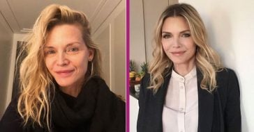 61-Year-Old Michelle Pfeiffer Wows Everyone With Gorgeous, All-Natural Selfie