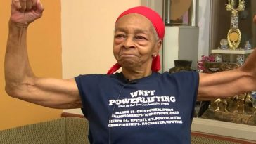 82 year old bodybuilder fights off intruder in her home