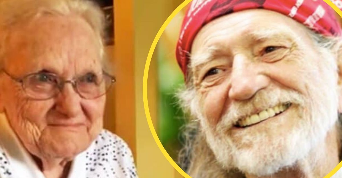 92-Year-Old Woman So Excited When She Learns Willie Nelson Recorded A Song She Wrote