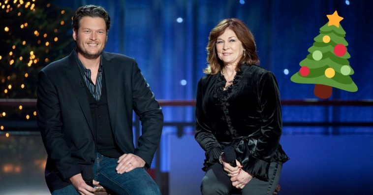 Blake Shelton and his mother wrote and sang a Christmas song together