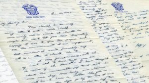 Bush Sr. wrote love letters to his wife