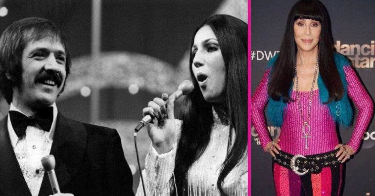 Cher performs Sonny and Cher song on Dancing with the Stars finale