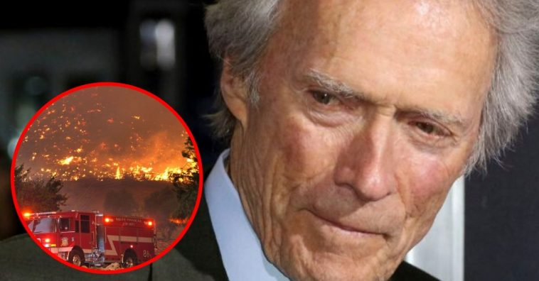 Clint Eastwood Refuses To Evacuate California Wildfires So He Can Finish His Work