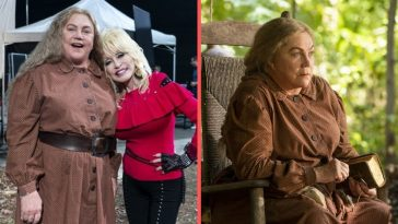 Dolly Parton convinced Kathleen Turner to play a hill woman in Netflix series