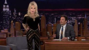 Dolly Parton pranks Jimmy Fallon with a fake story