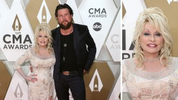 Dolly Parton sang faith based songs at the latest CMA awards