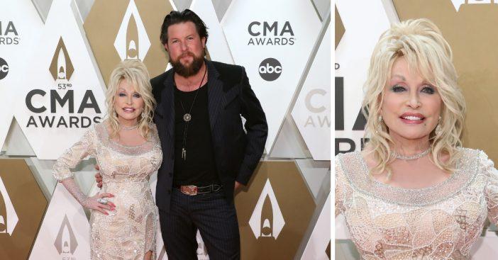 Dolly Parton sang faith based songs at the latest CMA awards