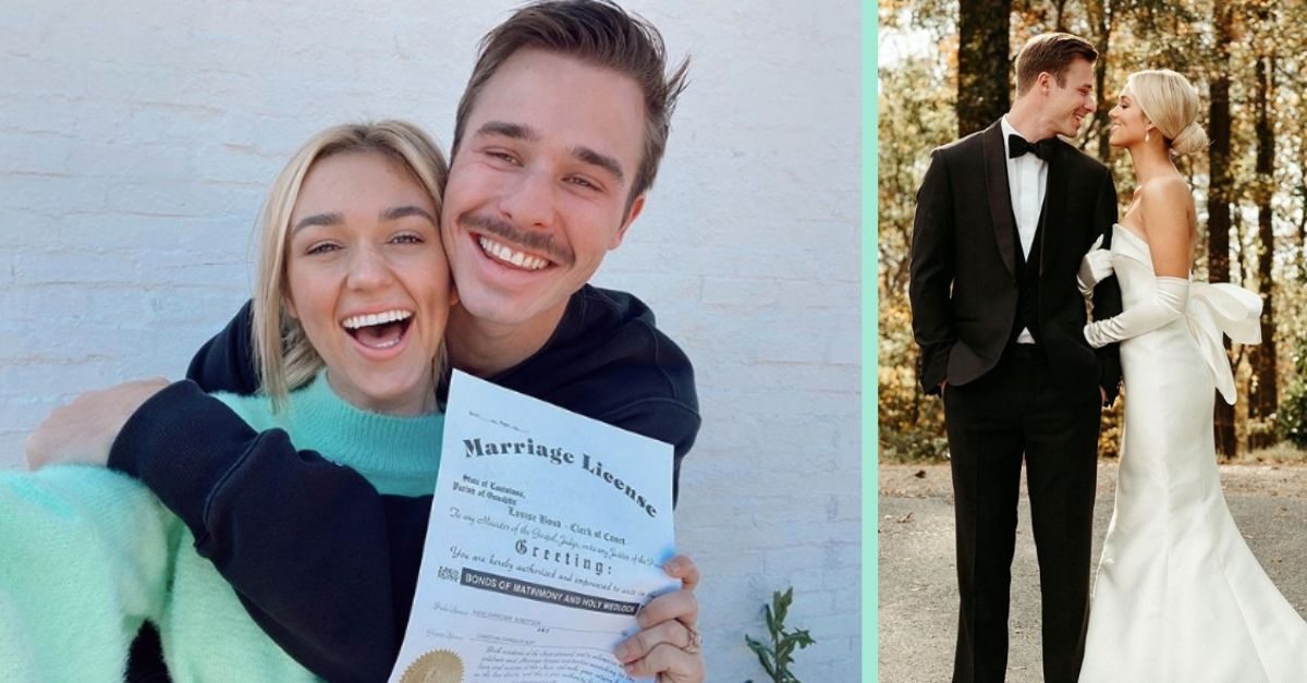 """'Duck Dynasty' Star Sadie Robertson And Christian Huff Say """"I Do"""" In Private Wedding Ceremony"""