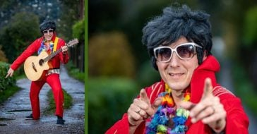 Elvis Impersonator So Bad That Event Organizers Wouldn't Let Him On Stage