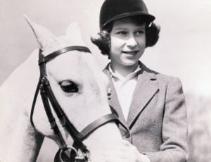 Ever since receiving a Shetland pony named Peggy, Elizabeth II loved horses