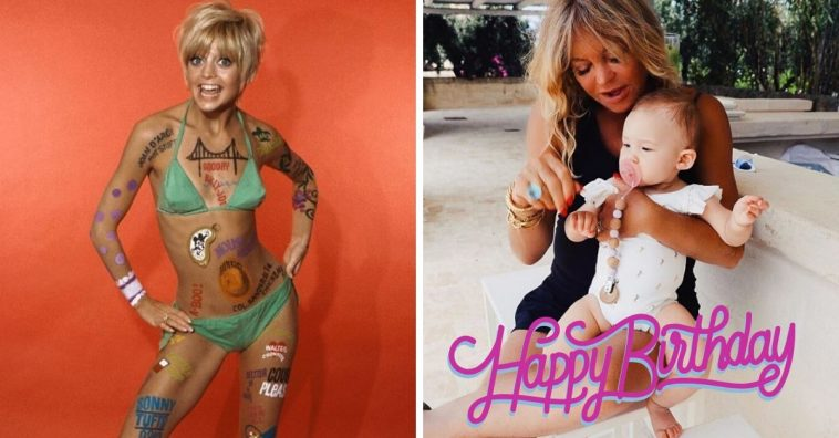 Goldie Hawns kids shared touching posts for her birthday