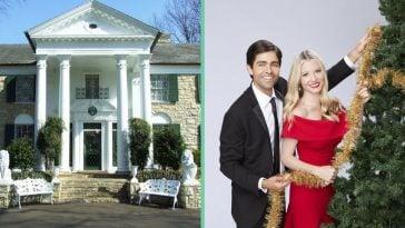Hallmark decorated Elvis Presleys estate for new movie about Graceland