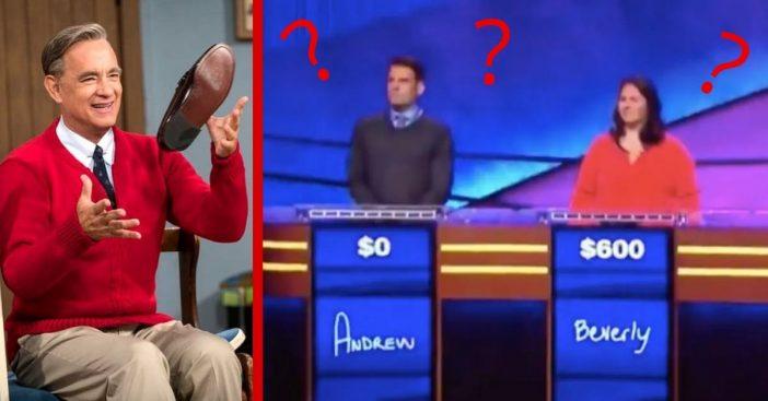Hanks was quite unrecognizable to the contestants