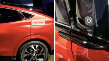 How The 2021 Ford Mustang Mach-E's Doors Work