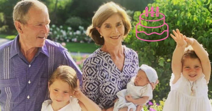 Jenna Bush Hager shares family photo to celebrate mom Laura Bush birthday