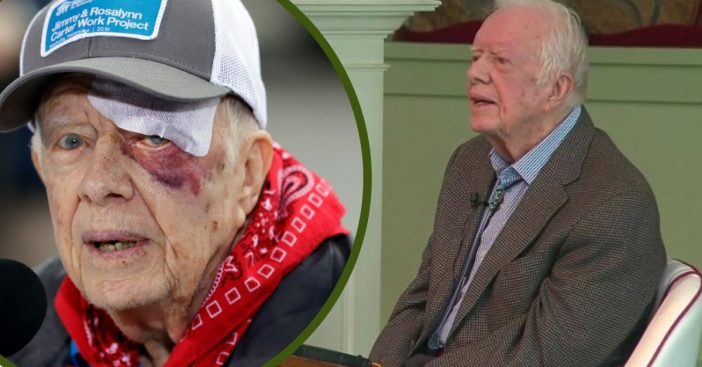 Jimmy Carter Shares That He Is _Absolutely And Completely At Ease_ With Death While At Church Service