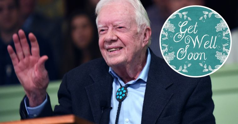 Jimmy Carter is recovering from brain surgery