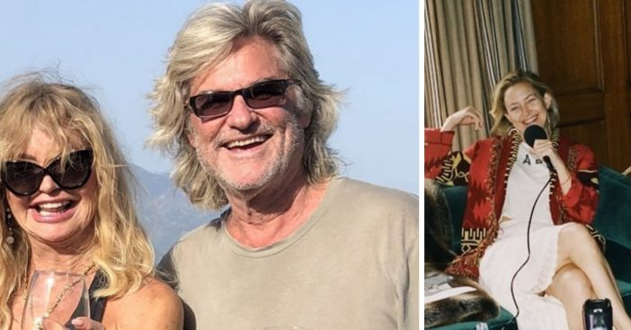 Kate Hudson shares a sweet story from Kurt Russell and Goldie Hawns early relationship