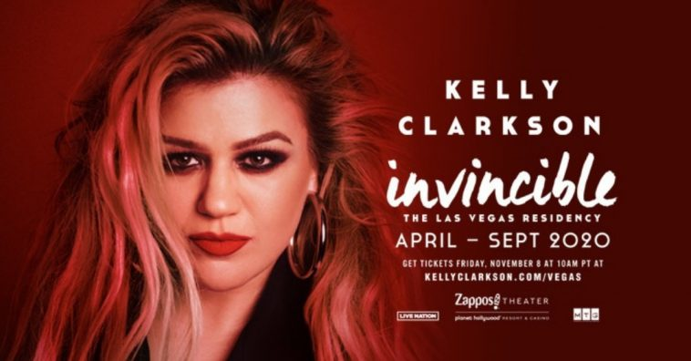 Kelly Clarkson announced her new Las Vegas residency