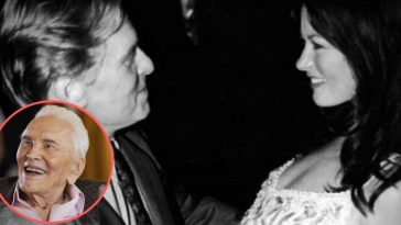 Kirk Douglas Shares Some Advice To Michael Douglas & Catherine Zeta-Jones As They Celebrate 19th Anniversary