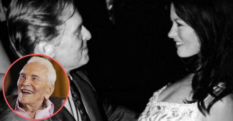 Kirk Douglas Shares Some Advice To Michael Douglas & Catherine Zeta-Jones As They Celebrate 19th Anniversary