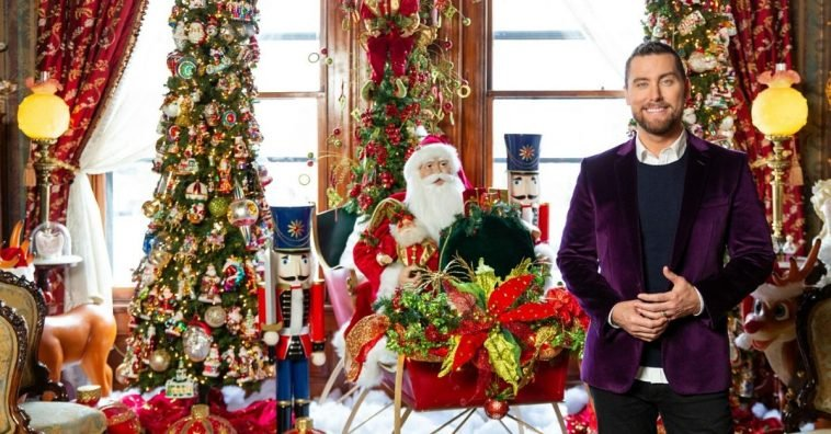 Lance Bass will host a HGTV special about outrageous holiday decorations