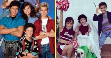 Mario Lopezs kids dress up as Saved by the Bell characters for Halloween