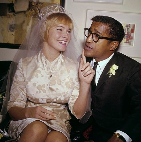 May Britt and Sammy Davis Jr.