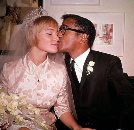 May Britt marrying Sammy Davis Jr.