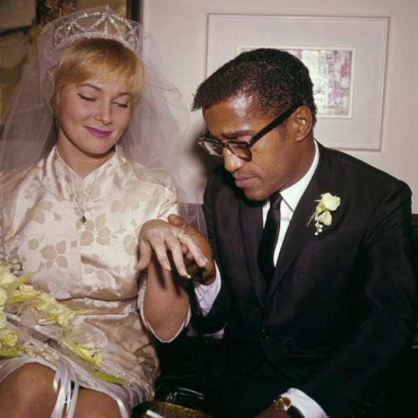 May Britt marrying entertainer Sammy Davis Jr.