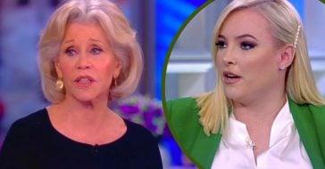 Meghan McCain Coincidentally Absent From Jane Fonda's Segment On 'The View' (1)