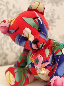 Memory Bears use fabric from a loved one's favorite clothing to preserve their memory