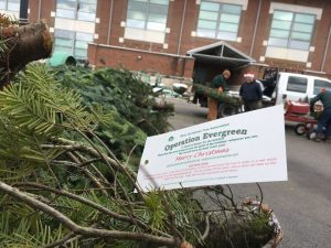 Operation Evergreen seeks to provide troops abroad with some Christmas cheer