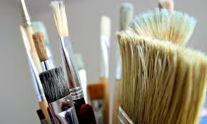 Paint brushes are ruined if they stiffen