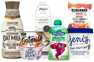 Plant-based dairy alternatives have grown in popularity