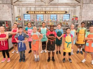 Platt competed on Kids Baking Championship