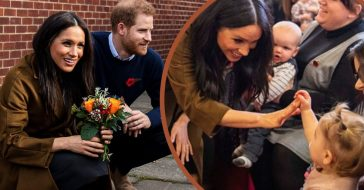 Prince Harry And Meghan Markle Make A Surprise Visit To Military Families