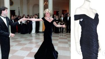 Princess Dianas iconic gown is going up for auction