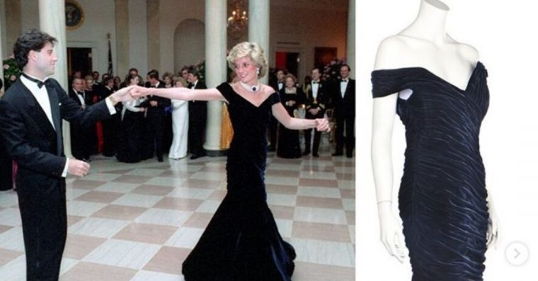 Gaun Ikonik Putri Diana Dijual Seharga Rp 6,5 Miliar