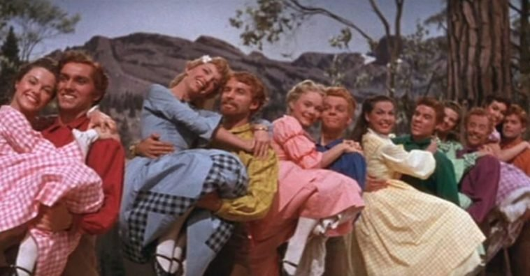 Remembering The Iconic Barn Dance From 'Seven Brides For Seven Brothers'