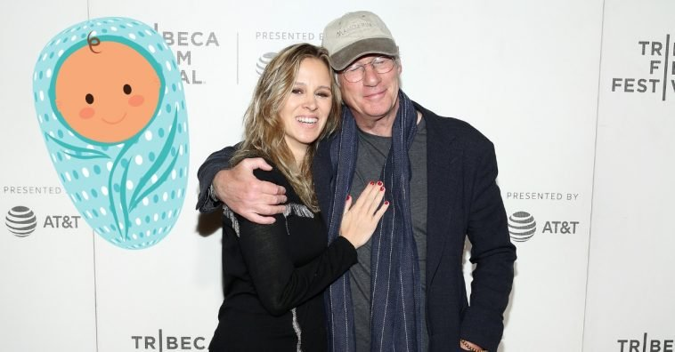 Richard Gere and his wife Alejandra Silva are expecting their second baby together