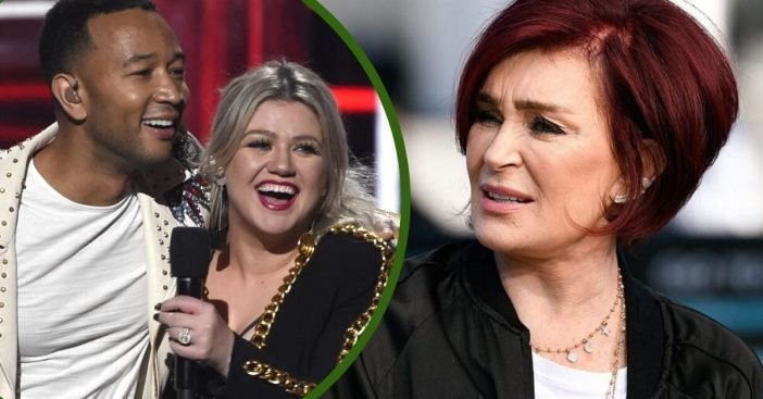 Sharon Osbourne Says John Legend & Kelly Clarkson's Version Of Christmas Classic Is _Ridiculous_