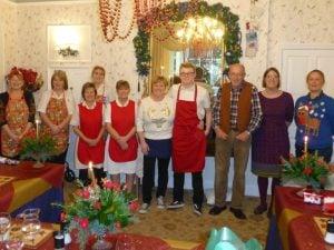 Staff at theOld Vicarage Nursing Home