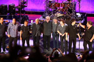The Doobie Brothers are all together on the road again