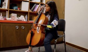 This student now has the ability to become a successful cellist