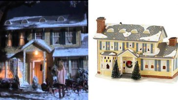 You can now buy a Christmas Vacation ceramic village for the holidays